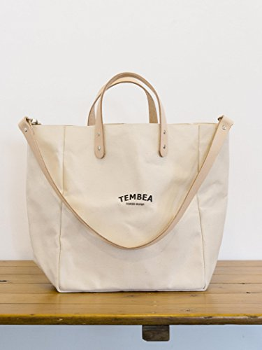 (コドモビームス) こども ビームス / TEMBEA(テンベア) / マザートート ロゴ 55610273813 ナチュラル ONE SIZE
