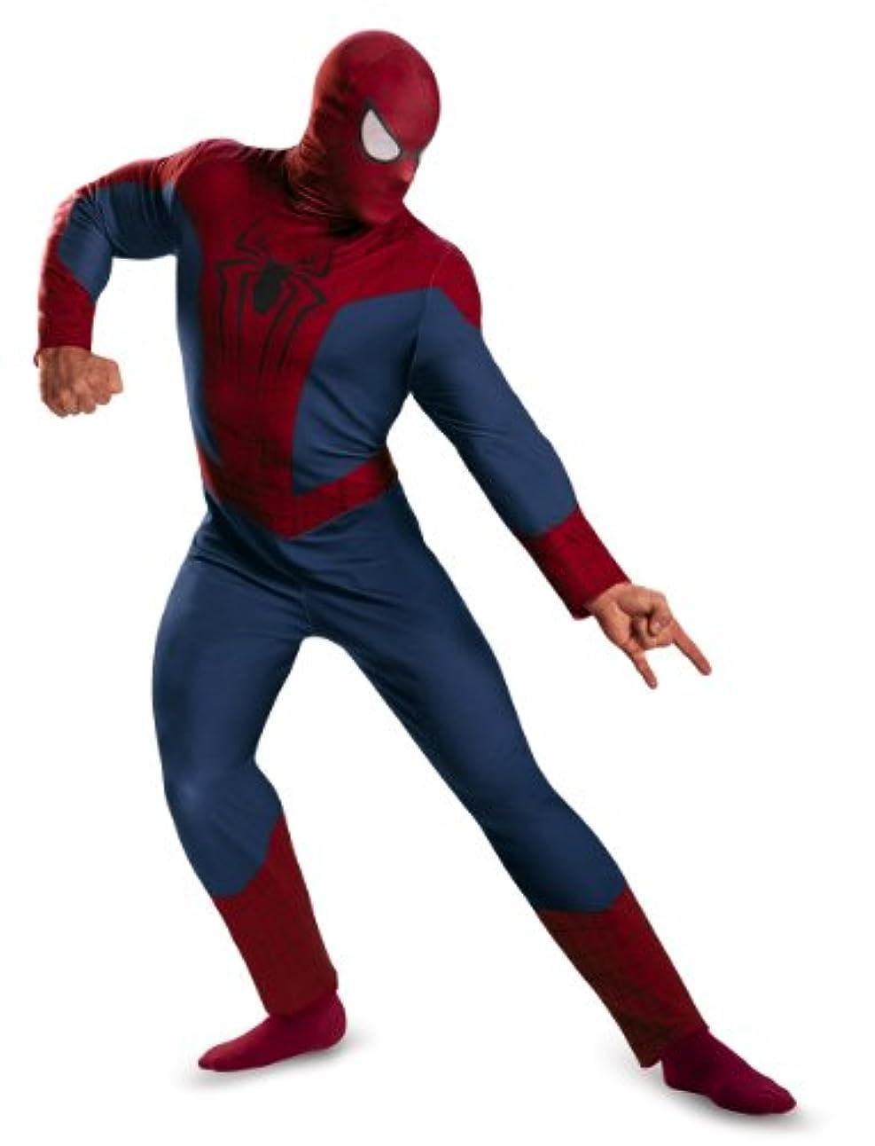 葡萄息苦しい観察するディスガイズ DISGUISE スパイダーマン コスプレ 衣装 スパイダーマン 大人用 マーベル コスプレ コスチューム?衣装 サイズ XXL