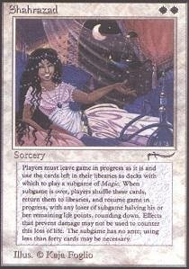 Magic: the Gathering - Shahrazad - Arabian Nights