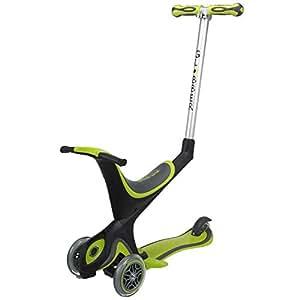 GLOBBER グロッバー EVO キックボード 3輪 1歳から 変形 フットブレーキ 外遊び 子供 乗り物 安全設計 キックスクーター バランスバイク (グリーン) WLGB455106