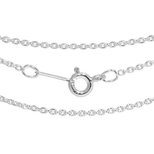 新宿銀の蔵 シルバー925 あずきチェーン 幅1.3mm~9.1mm 長さ38cm~80cm ネックレス チェーン レディース チェーンネックレス メンズ 人気