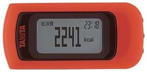 タニタ(TANITA) 活動量計 カロリズム EZシリーズ アプリコット EZ-061-OR