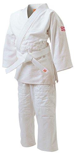 九桜 JSL 女子用一重織柔道衣 (背継仕上) さくら 上下セット 3サイズ JSL3
