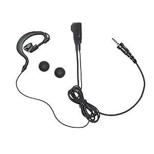 スタンダード アルインコ アイコム 耳掛け式イヤホンマイクDXタイプ 1ピン防水ねじ込み式プラグ FTH-107 FTH-108 FTH-208 FTH-307 FTH-308 DJ-P22 IC-4300 IC-4350用