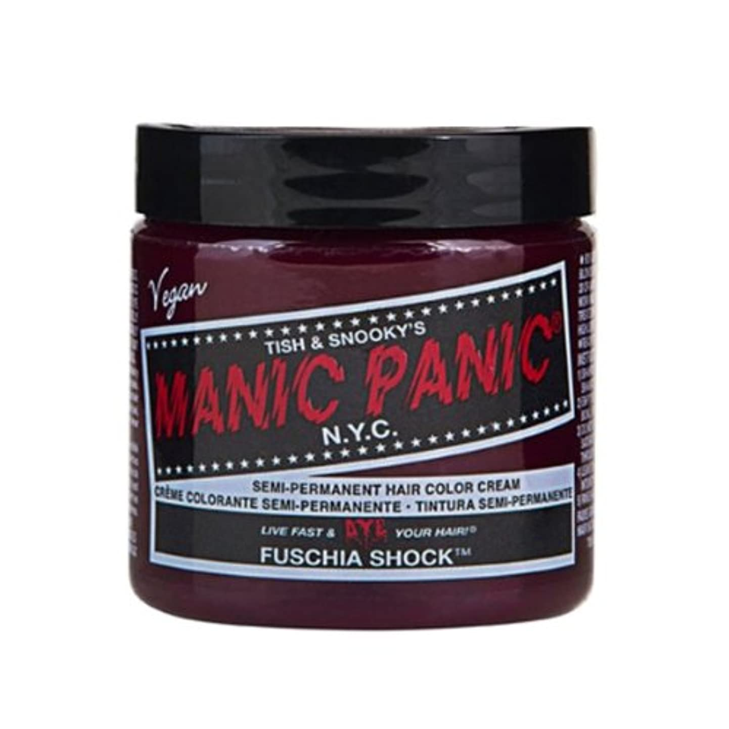 ブレーキ愛国的な発生するマニックパニック カラークリーム フューシャショック