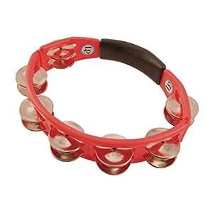 LP エルピー タンバリン Cyclops Hand Held Tambourine, Red LP151