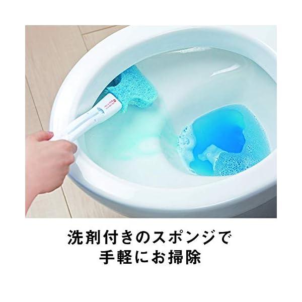 3M トイレブラシ クリーナー 洗剤付 取替1...の紹介画像4