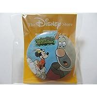 Disney Store ディズニーストア 1999年 ミッキーマウス ジャックと豆の木 缶バッジ