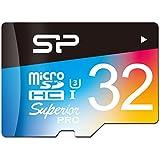 SP シリコンパワー microSDHCカード 32GB U3対応 4K動画 最大読込90MB/秒 最大書込80MB/秒 永久保証 SP032GBSTHDU3V20SP