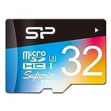 シリコンパワー microSDHCカード 32GB U3 4K動画 最大読込90MB/秒 最大書込80MB/秒 永久保証 SP032GBSTHDU3V20SP
