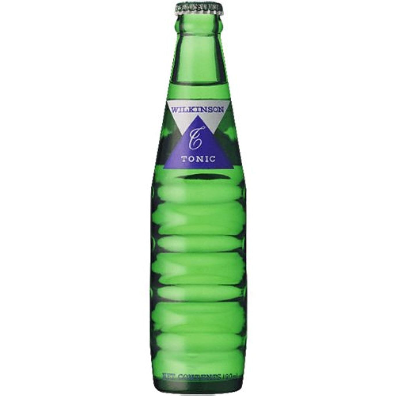 のれん溶けたスクラップアサヒ ウィルキンソン トニックウォーター リターナブル瓶 190ml×24本