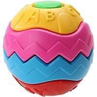 1setアセンブリボールおもちゃベビーカラフルGraspingボール教育玩具は、にアセンブル異なる形状