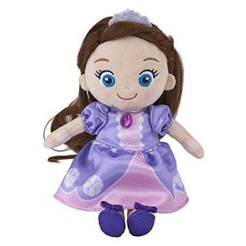 [해외]디즈니 캐릭터 내 작은 공주 헤어 메이크업 플러시 인형 소피아 더 퍼스트 높이 약 22cm/Disney Character My Little Princess Hair Make Plush Doll Small Princess Sofia Height About 22 cm