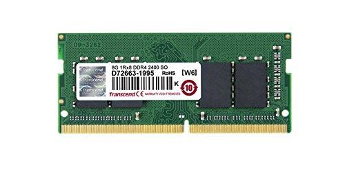 Transcend ノートPC用メモリ PC4-19200 DDR4 2400 8GB 1.2V (低電圧) 260pin SO-DIMM JM2400HSB-8G