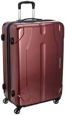 [ワールドトラベラー] World Traveler プレオン キャスターストッパー付 スーツケース 70cm・85リットル・4.5kg・ACE製 05908 08 (ワインカーボン)