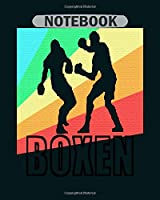 Notebook: boxing ko champion gift1 - 50 sheets, 100 pages - 8 x 10 inches