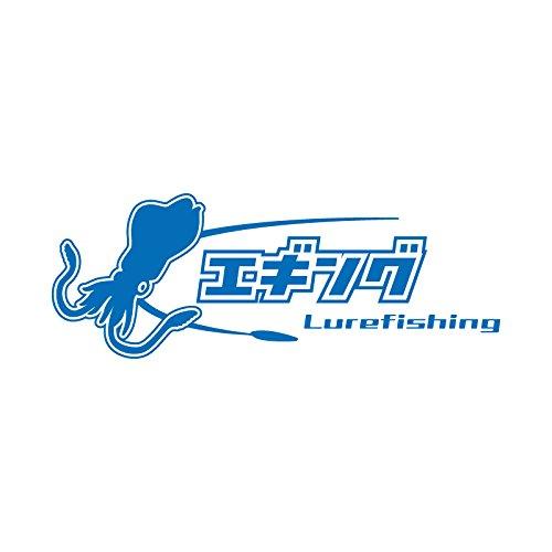 エギング カッティング ステッカー ブルー 青...