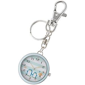[フィールドワーク]Fieldwork 懐中時計 キーチェーン アニマル ブルー ST157-3 懐中時計