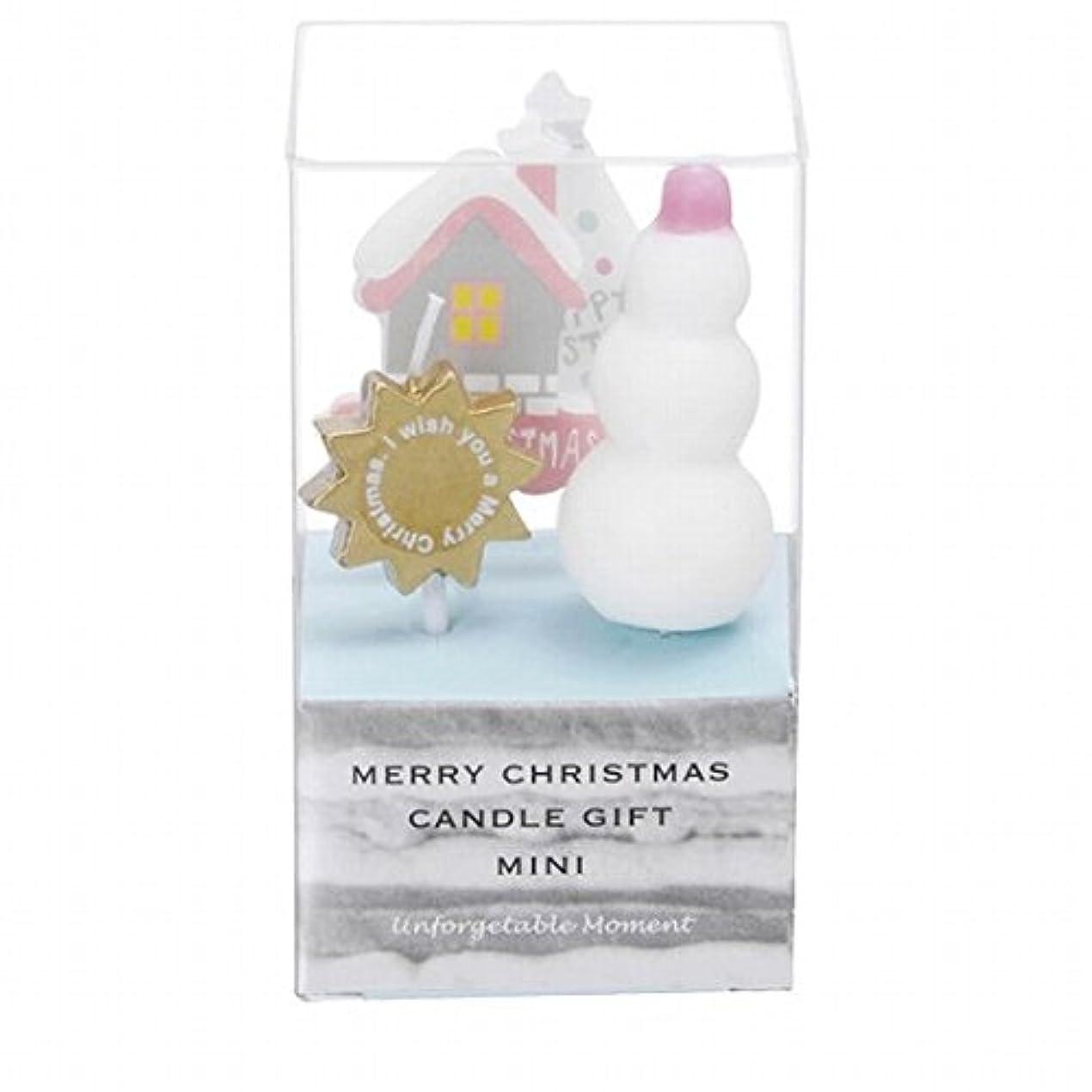 警告アイロニー登山家カメヤマキャンドル(kameyama candle) クリスマスキャンドルギフトミニ 「 B 」