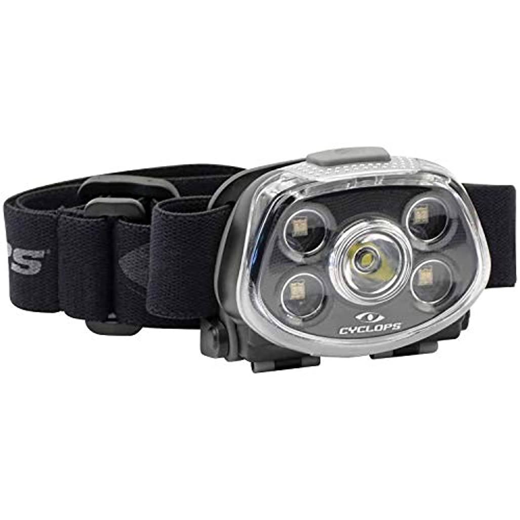カーテン自己同意Cyclops Force XP 350 LM Headlamp
