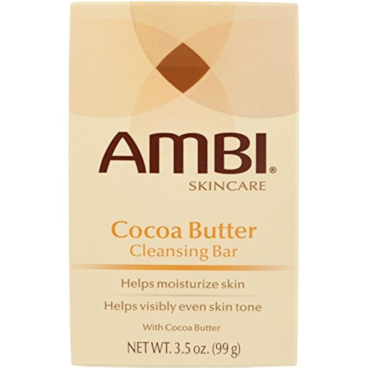 東部厚くする入札Ambi Fade Soap Cocoa Butter 105 ml (並行輸入品)