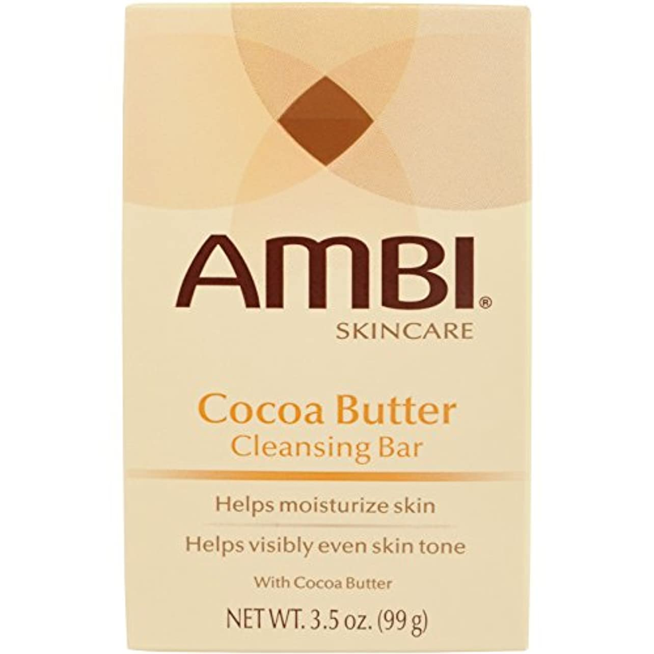 ハプニングイタリック雪だるまAmbi Fade Soap Cocoa Butter 105 ml (並行輸入品)