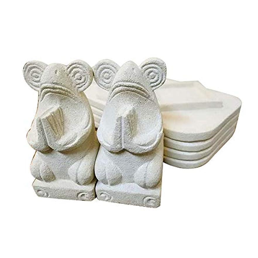 賛美歌木製ボリュームアジアン バリ 雑貨 ♪お祈りお香立て(カエル)♪ おしゃれ インテリア エスニック 石製 オブジェ 小物
