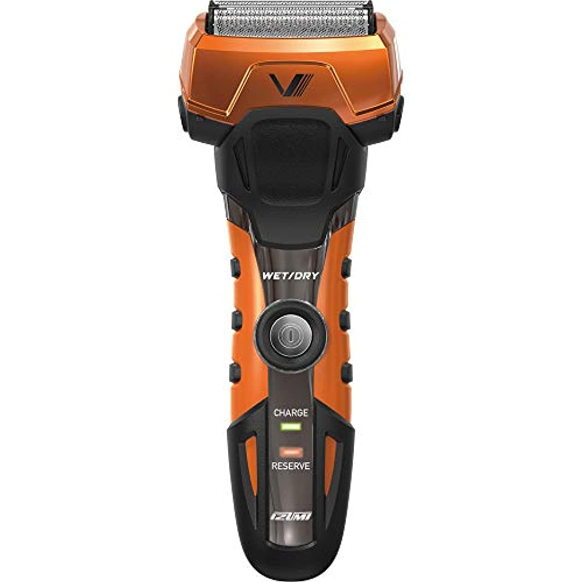 日焼け乏しい散逸IZUMI A-DRIVE グルーミングシリーズ 往復式シェーバー 3枚刃 オレンジ IZF-V738-D-EA
