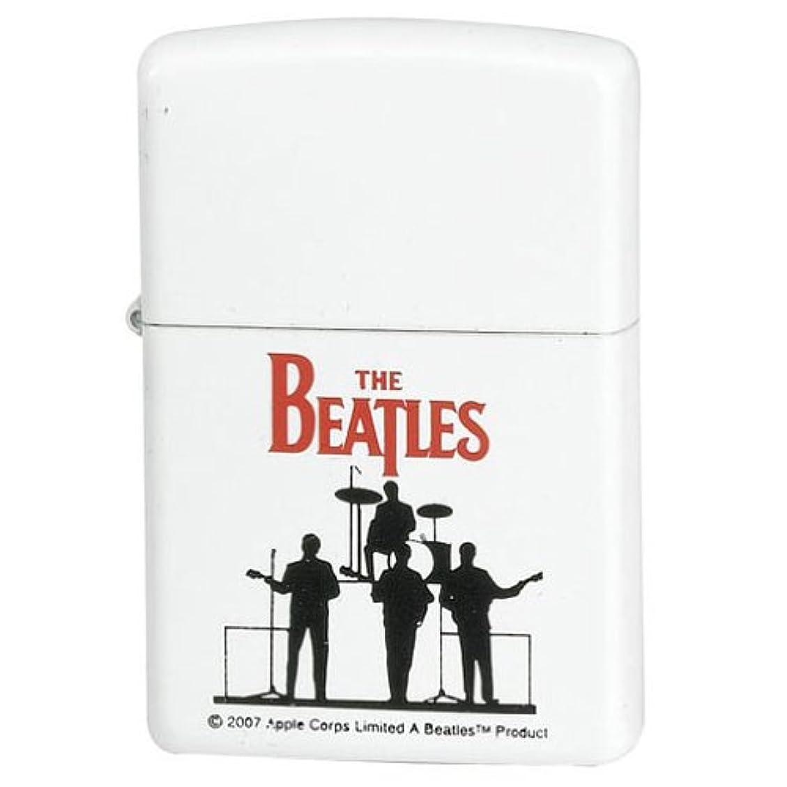 待って芸術的中世のZippo Beatles Silhouette ビートルズ ジッポ 24060