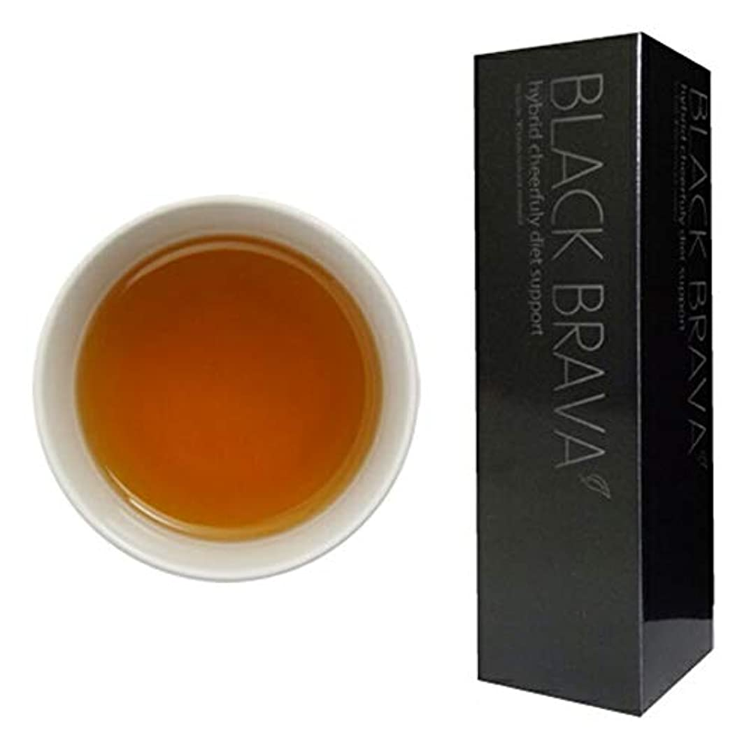 商品供給盲目ブラバ が進化 ダイエットティー ハイブリッド チアフリー ダイエットサポート ブラックブラバ ブラバ茶 2本セット