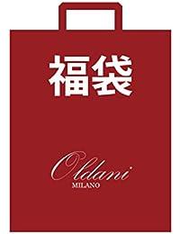 (オルダニ) Oldani Milano 福袋 メンズ 2018 ワンタッチ ネクタイ 2本 セット ビジネス 本革 ビジネスベルト 2本 カジュアル メッシュベルト 1本 合計 5点 セット