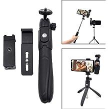 Auppova Selfie Stick Tripod Mount Mobile Phone Holder Mount Compatible for DJI OSMO Pocket Gimbal