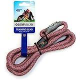 Cesar Millan Slip Lead Leash | Dog Leash | in Training Leash | (Regular, Pink/Gray)