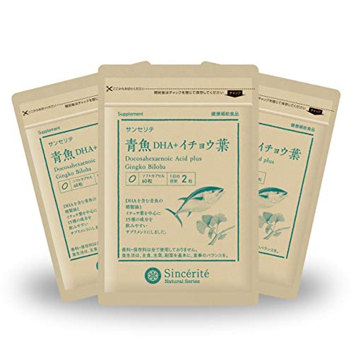 デジタルクランプ好奇心青魚DHA+イチョウ葉 3袋セット[送料無料][DHA]101mg配合[国内製造]お得な★90日分
