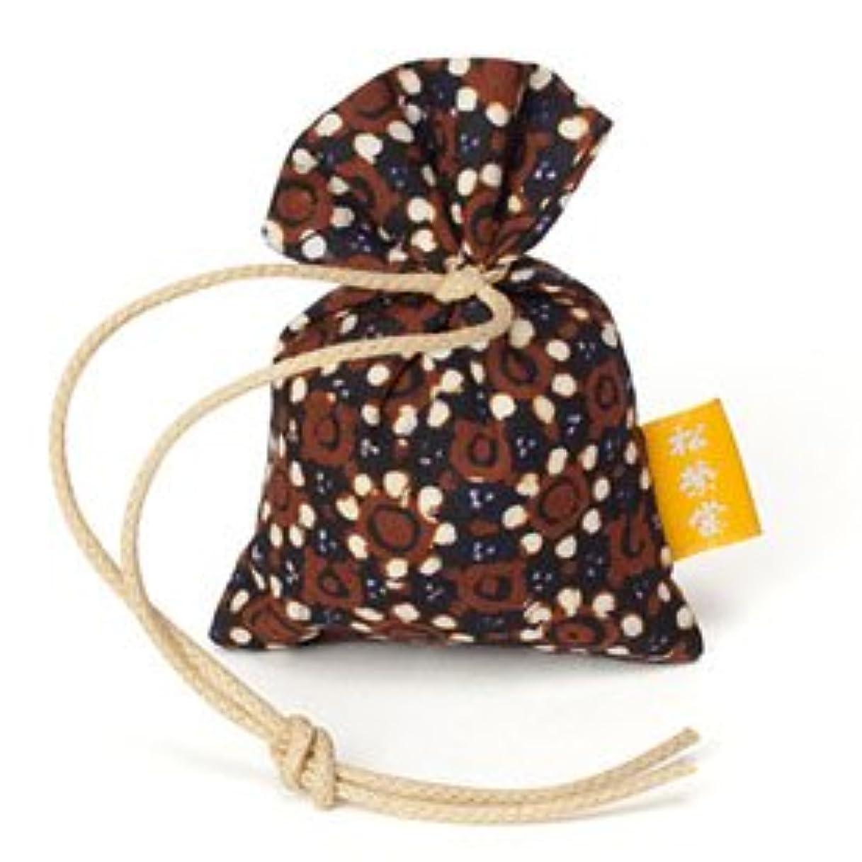 科学的刺繍ヘルパー匂い袋 誰が袖 渡 バティック わたる 1個入 松栄堂 Shoyeido 本体長さ60mm