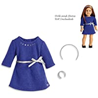 American Girl Truly Me Blue Rhinestone Studded Dress for 18 Dolls TM (Doll Not Included)