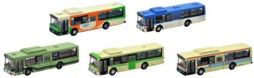 ザ・バスコレクション 西日本車体工業96MCノンステップバス5台セットA2