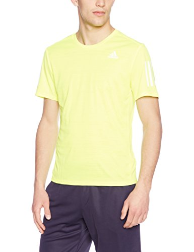 (アディダス)adidas ランニングウェア RESPONSE 半袖Tシャツ NDX88 [メンズ] BP7424 ソーラーイエロー/ブラック J/L