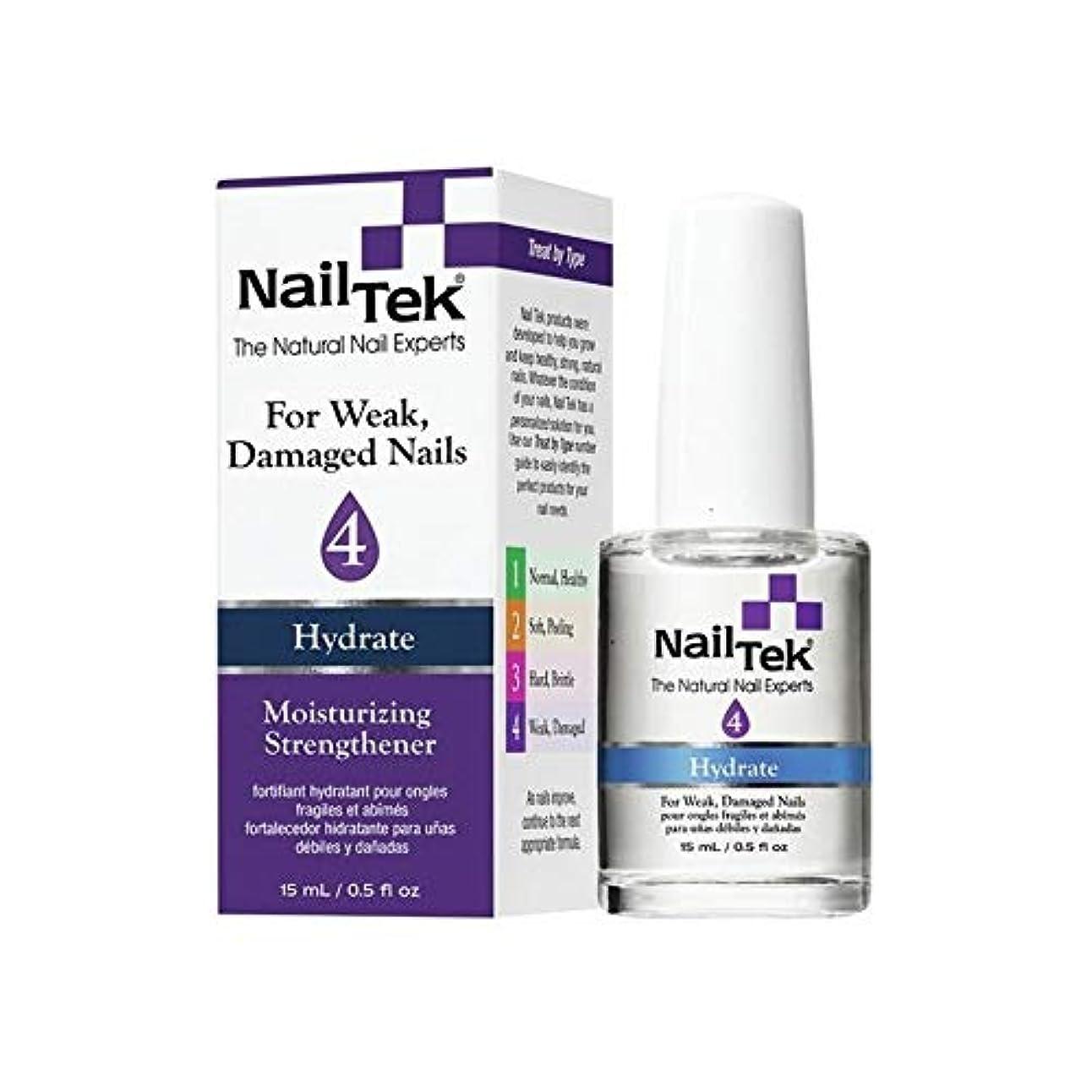パウダー平手打ち不道徳Nail Tek Treatment - Moisturizing Strengthener 4-0.5oz / 15ml