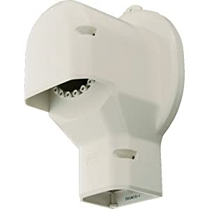 Panasonic 壁面取出しカバーPタイプ 排じん&換気機能付きエアコン用 DAS2804W エアコン用部材