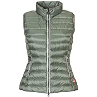 COLMAR ORIGINALS Luxury Fashion Womens 22221MQ148 Green Vest | Season Outlet