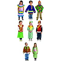 Excellerations多文化Costumes – セットof 8 ( Item # Worldset )