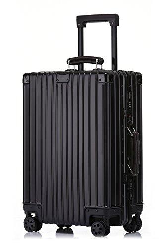 クロース(Kroeus)スーツケース キャリーケース アルミ‐マグネシウム合金ボディ 8輪 無段階調...