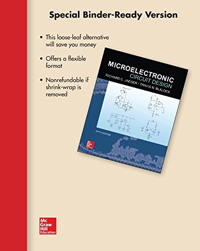 Download Loose Leaf for Microelectronic Circuit Design 1259238687