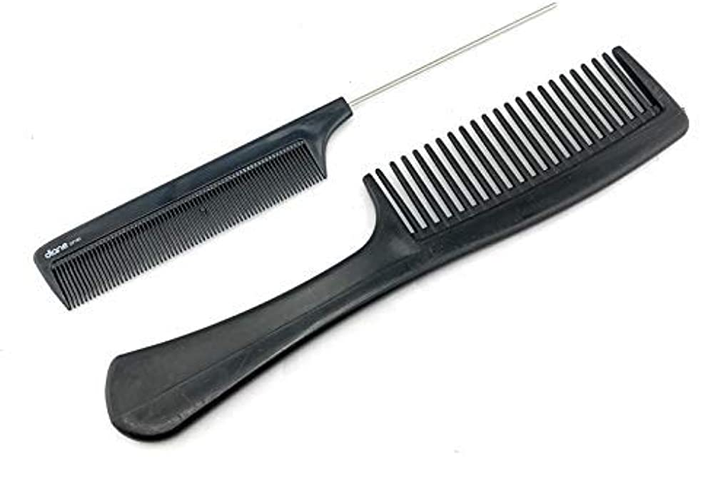 晩餐曲線思想Unbreakable Detangler Comb and Pin Tail Comb 8