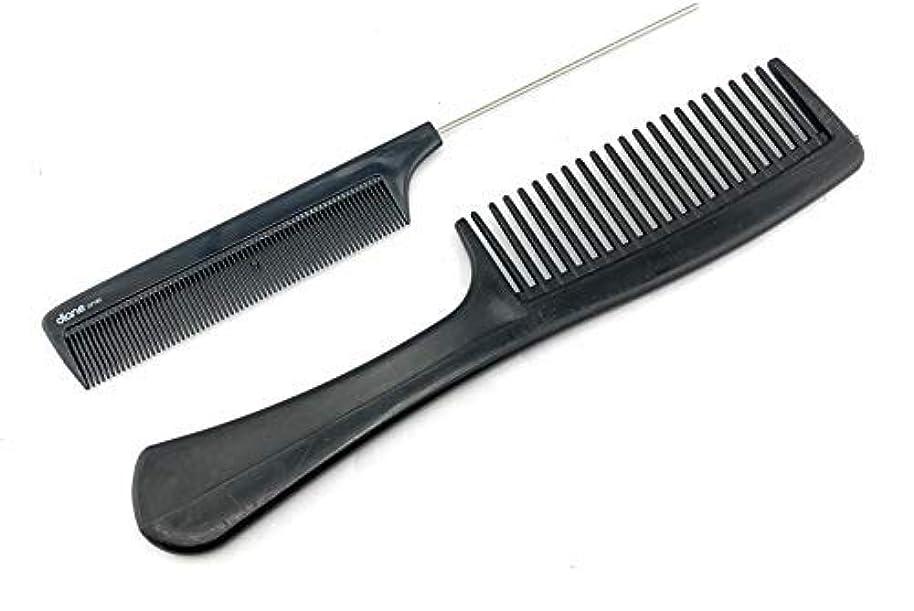 義務づける指オデュッセウスUnbreakable Detangler Comb and Pin Tail Comb 8