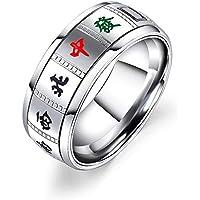 Ranipobo Fashion Creative Wild Rotatable Mahjong Ring