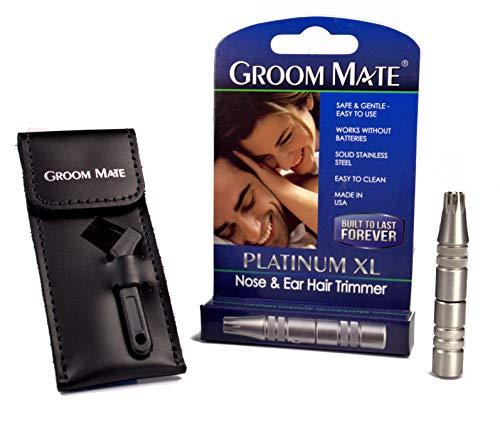 Groom Mate 鼻毛・耳の毛カッター プラチナ XL PLUS 25470