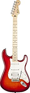 Fender フェンダー デラックスストラトキャスター Deluxe Strat HSS Plus Top w/iOS Interface RW Aged Cherry Burst Solid-Body Electric Guitar[並行輸入]