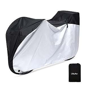 自転車カバー 子供乗せ 前後子供乗せ対応 サイクルカバー 防水 UVカット 雨 雪対策 厚手 防犯 防風 29インチまで対応 収納袋付き